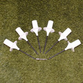 Screw-in-the-Ground Bases for Weave Poles- Set of 6