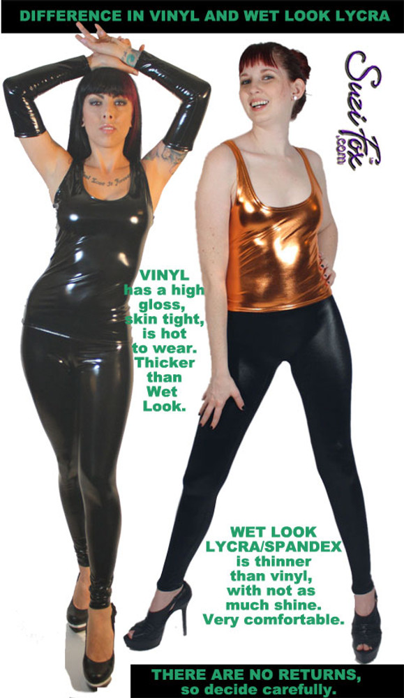 Be informed! Difference in Vinyl and Wetlook.