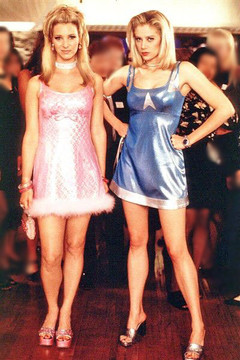 "Pink dress from ""Romy & Michele's High School Reunion"" movie"