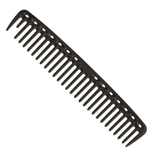 YS Park 452 Big Round Tooth Cutting Comb - Carbon Black