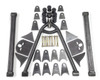 73-87 CHEVY 3 LINK KIT WITHOUT NOTCHES
