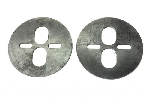 5.5 UPPER CIRCLE BAG PLATE (DUAL PORT)