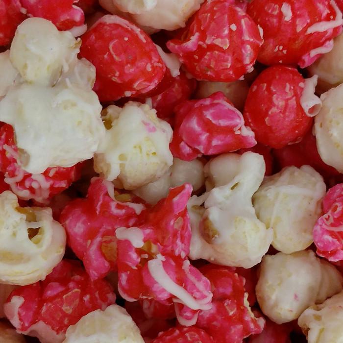 Strawberry Cheesecake Popcorn