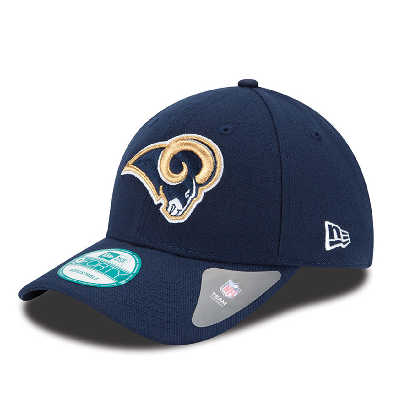 919c06c4e61 NEW ERA los angeles rams 9forty adjustable american football league cap   navy