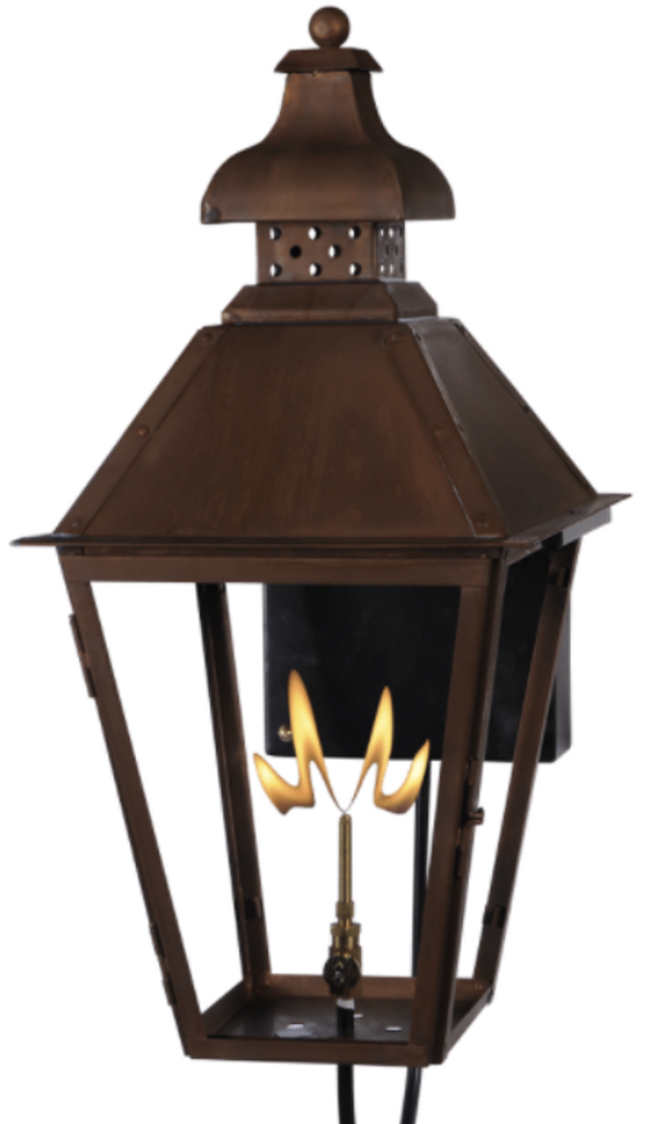 St. James Logan Copper Lantern