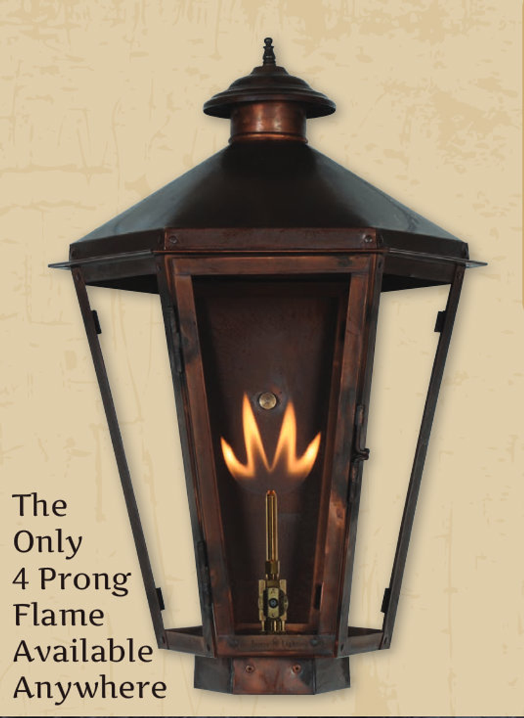 PROPANE GAS/ELECTRIC LIGHTING OPTIONS