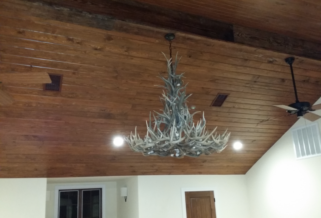 The New Mexico Deer Antler Chandelier