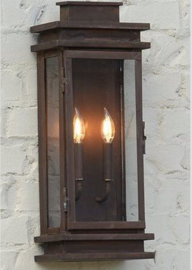 St. James Somerset Copper Lantern