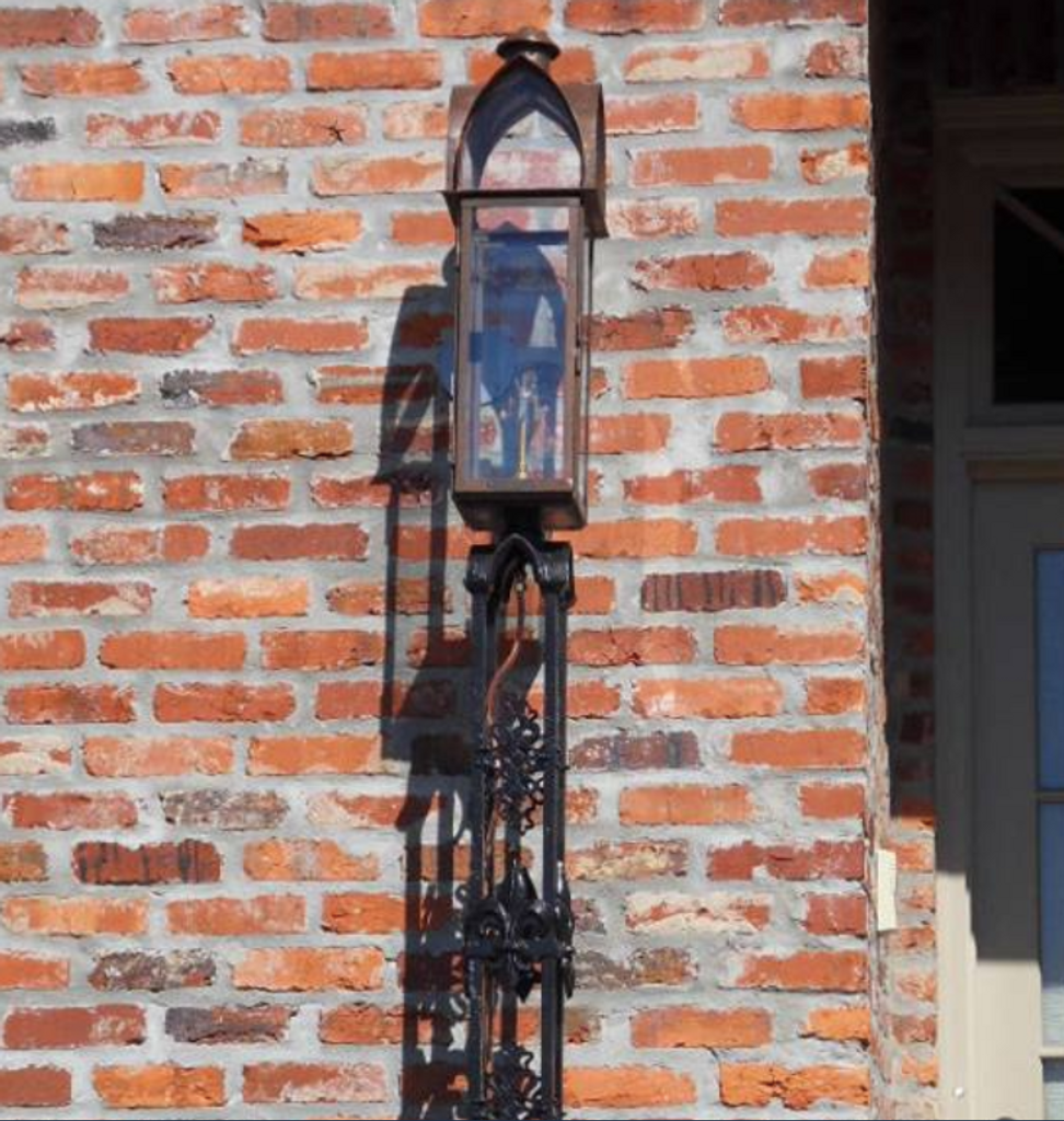 St. James Augusta Copper Lantern