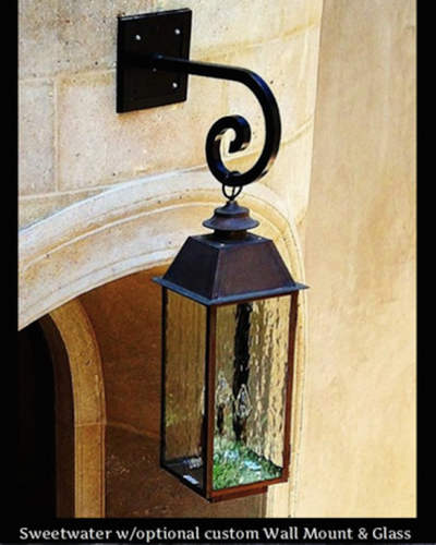 St. James Sweetwater Copper Lantern