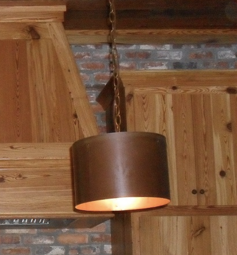 St. James Copper Drum Chandelier