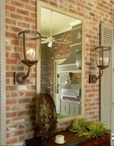 St. James French Country Copper Lantern