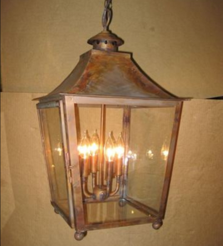 St. James Orlando Copper Lantern