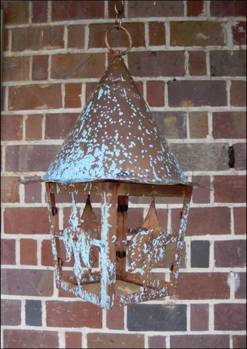 St. James Witch's Hat Copper Lantern