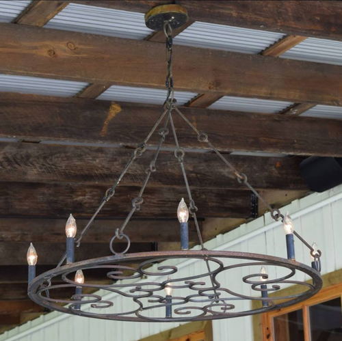 St. James Brescia Steel Chandelier