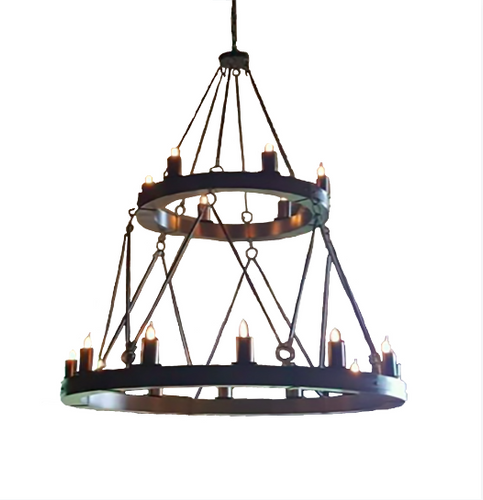 St. James Bavaria Steel Chandelier