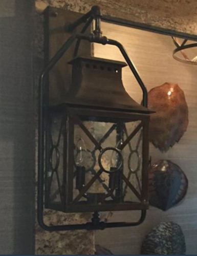 St. James Belvedere Copper Lantern