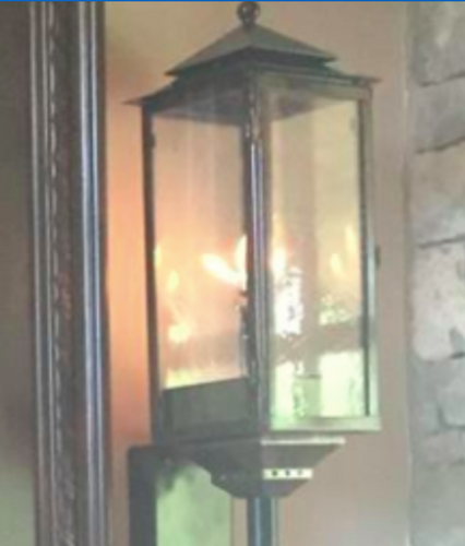 St. James South Pacific Copper Lantern