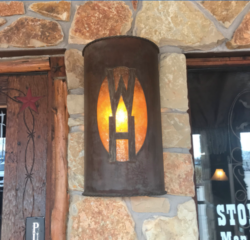 St. James  Piastra Copper Wall Sconce