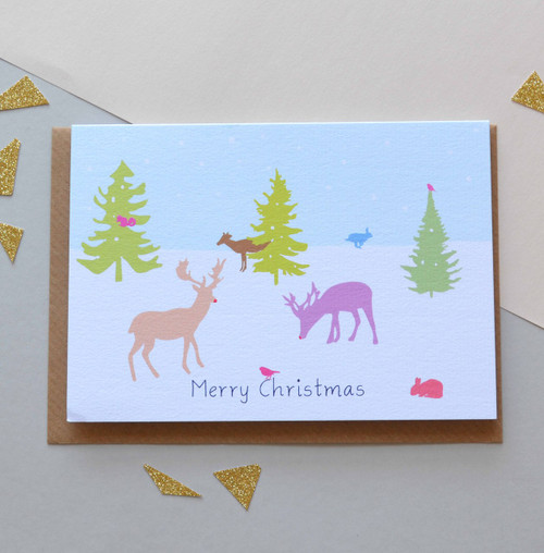 'Christmas Wonderland' A6 Christmas Card