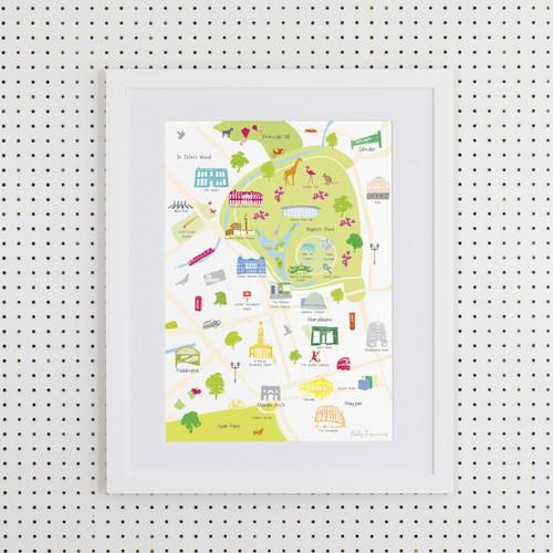 Regent's Park Art Print (Various Sizes)