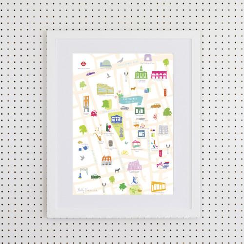Marylebone Art Print (Various Sizes)