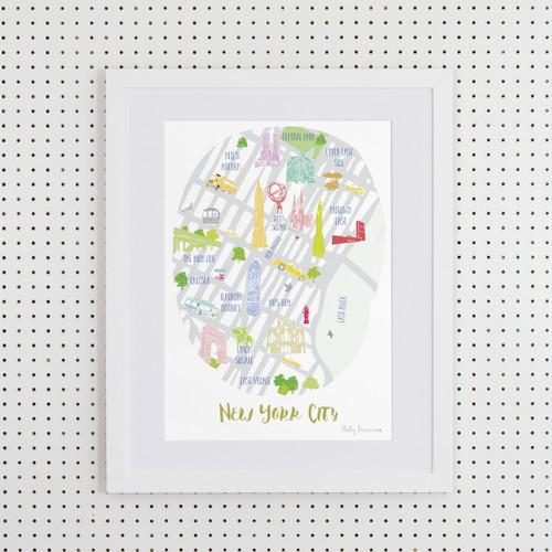 New York City Art Print (Various Sizes)