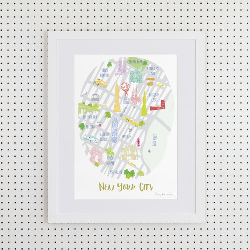 New York City Art Print (Various Sizes)