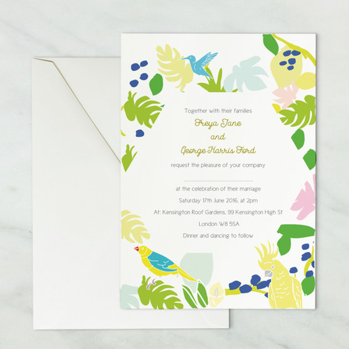 Wedding Invitations - Summer Set