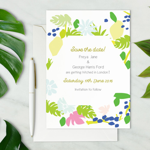 Save the date cards - Summer Set