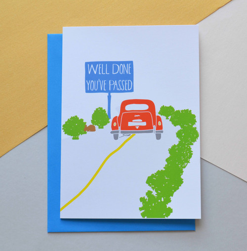 "Passed your Driving Test 5x7"" Greeting Card"