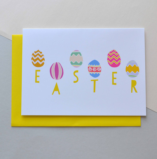 """Happy Easter 5x7"""" Greeting Card"""