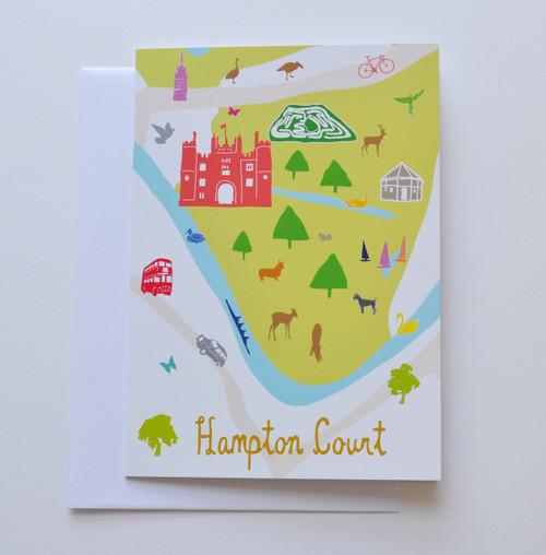 "Hampton Court 5x7"" Greeting Card"