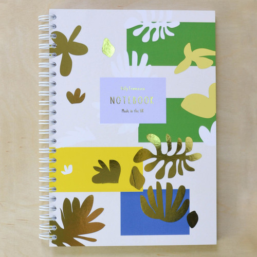 Henri Matisse 'Creativity Takes Courage' Notebook - Spiral bound with Gold Foil
