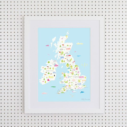 British Wonders Art Print (Various Sizes)
