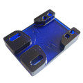 Tunnel Risers for eSk8 wire routing - Blue