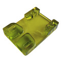 Tunnel Risers for eSk8 wire routing - Green