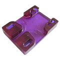 Tunnel Risers for eSk8 wire routing - Purple