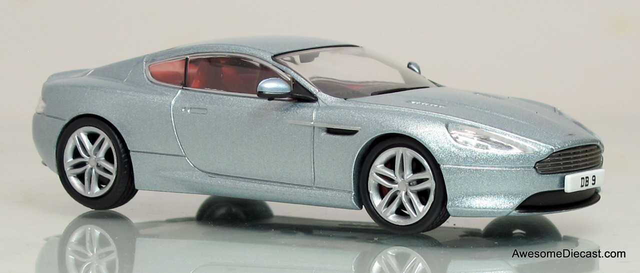 Oxford Diecast 1:43 Aston Martin DB9 Coupe: Skyfall Silver