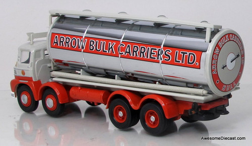 Corgi 1:50 Foden S21 'Mickey Mouse' Cylindrical Tanker - Arrow Bulk Carriers LTD