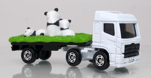 Tomica Panda Transporter Truck - Hino Profia Zoo - Special Edition