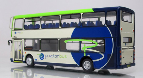 Corgi 1:76 Dennis Trident Double Decker Bus: 8 Bus Station - Preston Lines