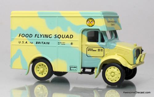 Oxford Diecast 1:76 Bedford 1.5-Ton Van - Food Flying Squad