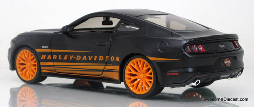 Maisto 1:24 2015 Ford Mustang - Harley Davidson