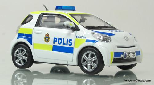 J-Collection 1:43 Toyota IQ - Stockholm City Police Car