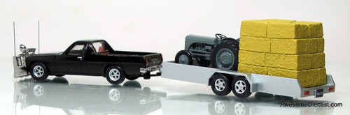 Aussie Road Ragers 1:64 1980 WB UTE w/ Trailer & TE20 Massey Ferguson Tractor