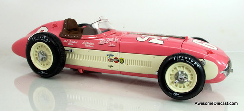 Carousel 1 1:18 1955 Kurtis Kraft Roadster Indy 500- #6 Bob Sweikert / John Zink Special