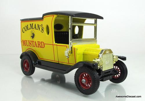 Matchbox 1:35 1912 Ford Model T - Coleman's Mustard