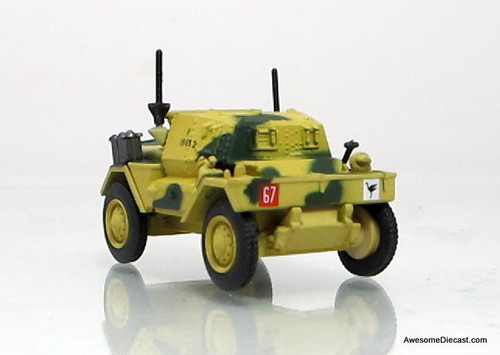 Oxford 1:76 1943 Daimler Dingo Scout Car: 50th RTR, 23rd AB, British Army, Tunisia