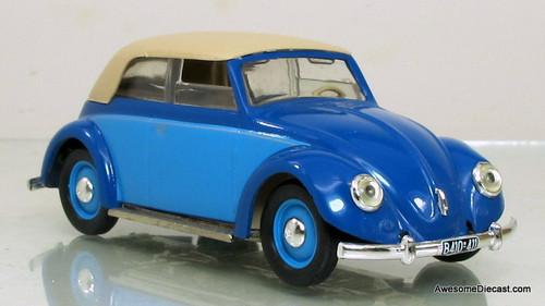 Vitesse 1:43 1949 Volkswagen Closed Cabriolet: Blue
